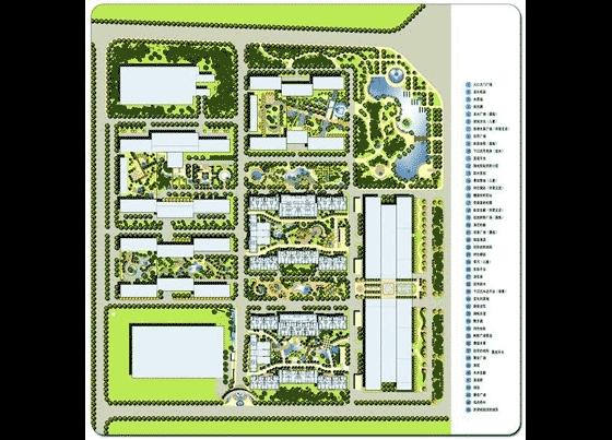 北京圣都维也纳环境景观设计手绘图