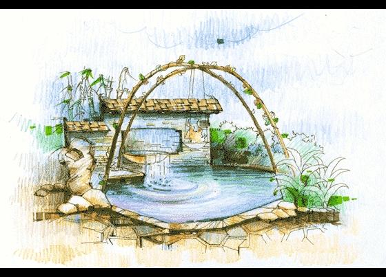 相关专题:花坛设计手绘图