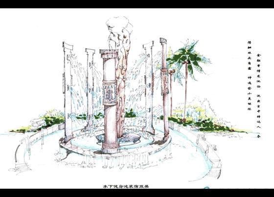 温泉设计手绘图集(七)