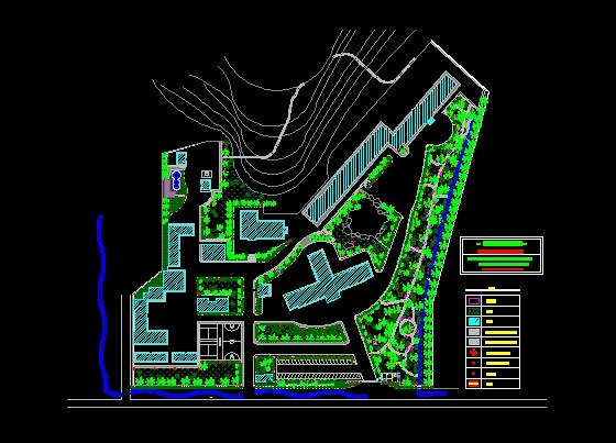 某医院园林规划设计图建筑工程设计能做装修的设计吗图片
