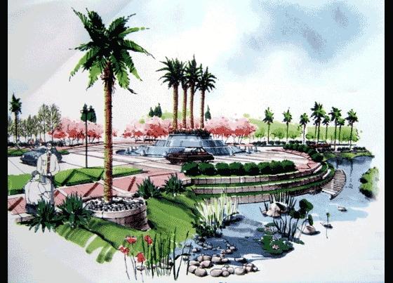 建筑景观马克笔手绘效果图 经典马克笔手绘小区规划总平面图(一) 各种