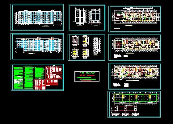 施工图包括建筑施工图设计总说明,装修做法表,门窗表,各层