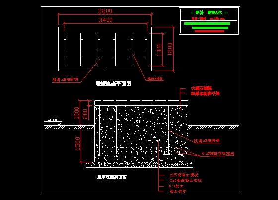 土木图纸施工平面图_CO雕塑在线(原网易土木混凝土标号底座图片