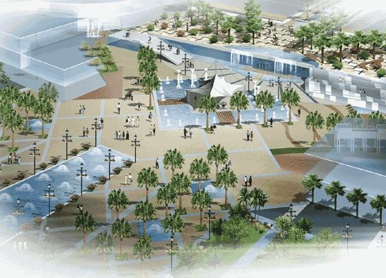 景观鸟瞰图设计 景观鸟瞰图psd 园林景观鸟瞰图设计  所属分类:水池