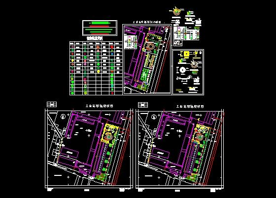 工业品市场规划平面图