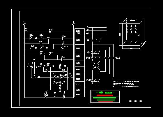 求教 星三角降压启动原理和控制回路原理图片