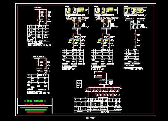 标准的配电箱接线图