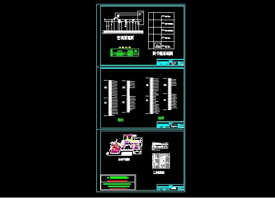 图纸 电气图纸 文教建筑 图书馆建筑电气设计施工图 ddc1与ddc2接线图