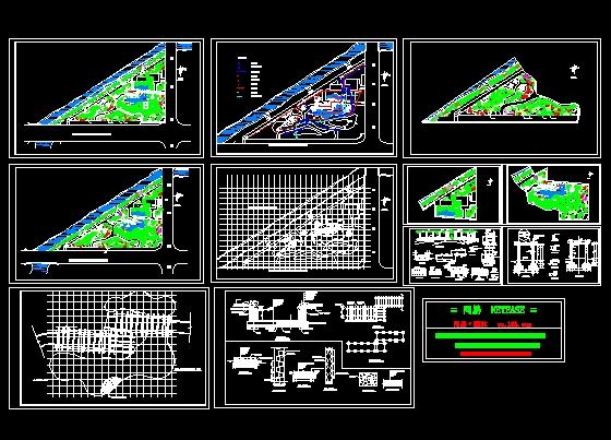 小公园绿化设计施工图