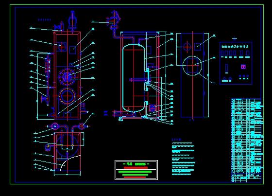 简介:电蒸汽锅炉平面设计图,ldz0.4型电蒸汽锅炉、去柜门主