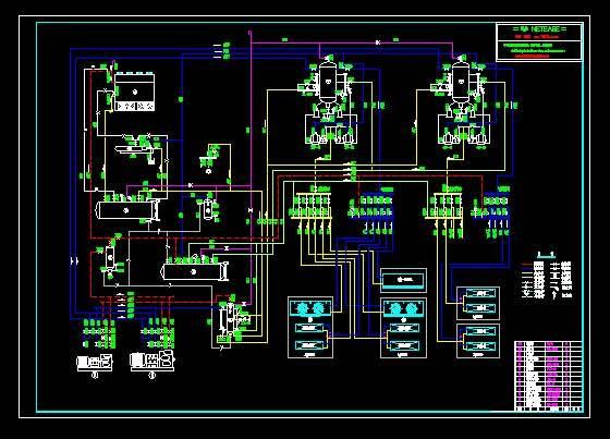 冷库制冷系统原理图.取用氮制冷压缩机.