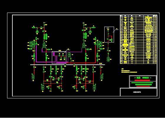 某图纸牵引变电所主设计图接线铁路陶艺图片