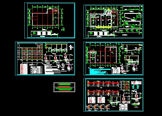 图纸 建筑结构图 结构构造图纸