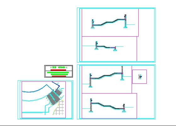 景观设计施工图,内容包括:总平面图,铺装样式图,绿化种植图,旗杆/台阶