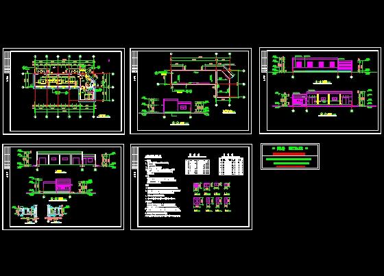 配电房建筑施工图设计