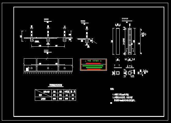 设计图/公路安全防护工程设计图