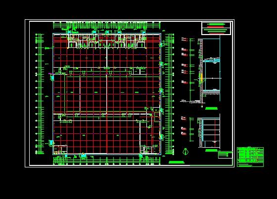 食品厂房建筑平面图 (560x403)-a型厂房平立面源文件