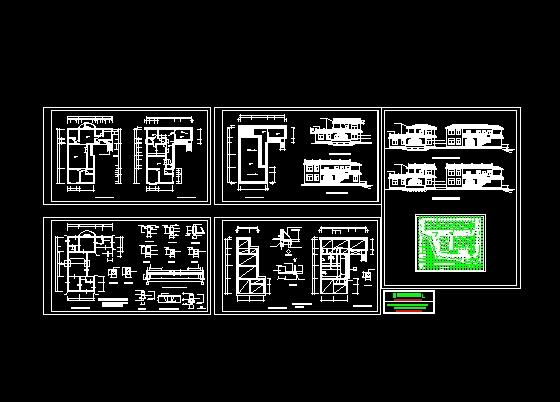 钓鱼别墅设计方案 建筑图纸 建筑,建筑,建筑学,中国建筑,建 (560x402)