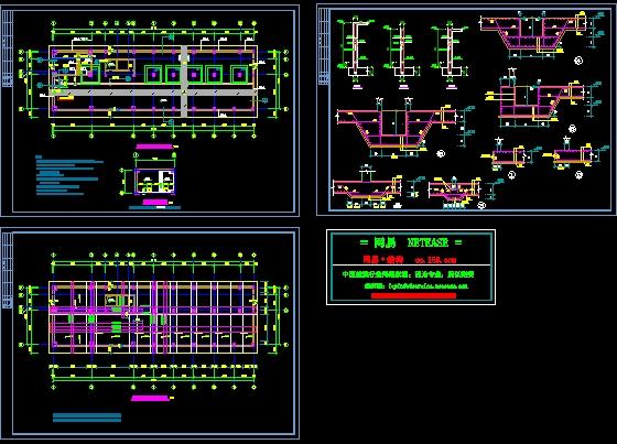 地下室筏板基础设计:内容包括模板图