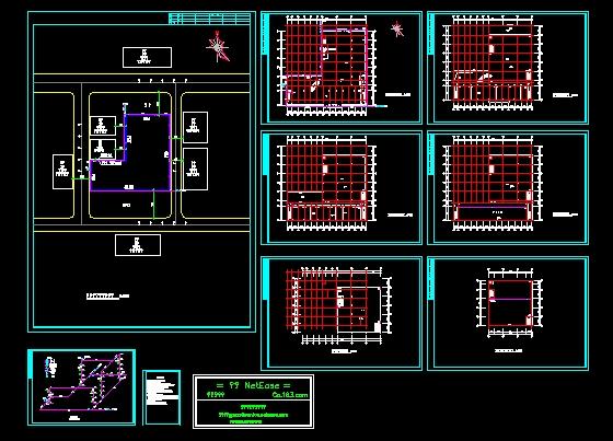 某商场的消防系统设计图