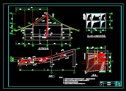 冷水塔结构图