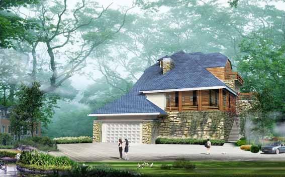 图纸 园林设计图 别墅方案效果图  上传时间:2006-08-18 所属分类