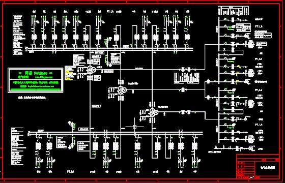 电气原理 高压原理图