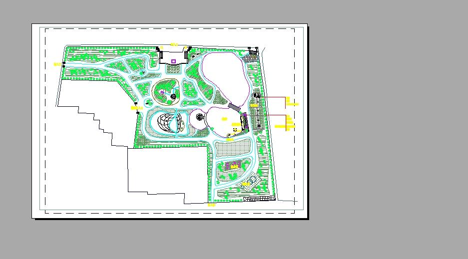 园林平面图cad园林平面图别墅园林平面图园林别墅平面图古典园林平面
