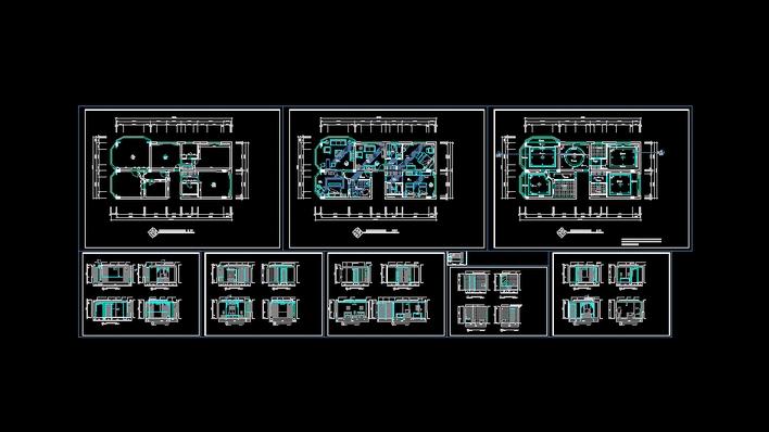 装修水电施工图设计图展示