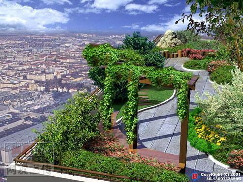 简介:屋顶绿化的好图 相关专题:屋顶花园屋顶花园设计中式屋顶花园图片
