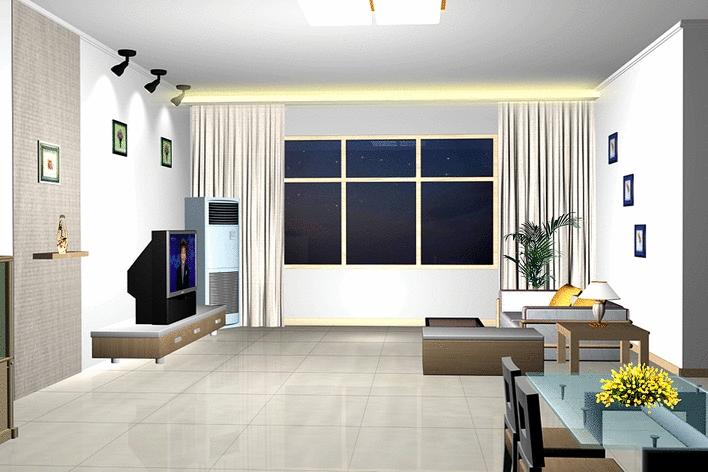 家庭装修效果图,施工图及竣工照片