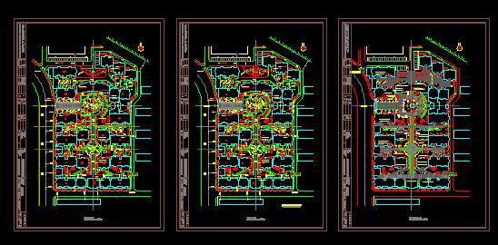 相关专题:小区景观施工图 小区景观设计施工图 小区景观施工图cad