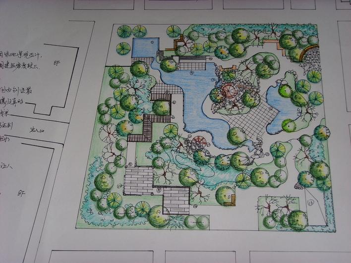 图纸 园林设计图 小区绿地规划设计  投稿网友:goodgt19850217 上传