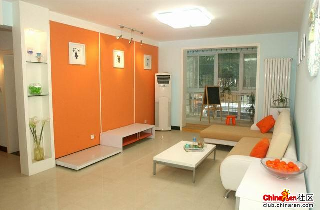 120平方的三室两厅[造价3w装修]