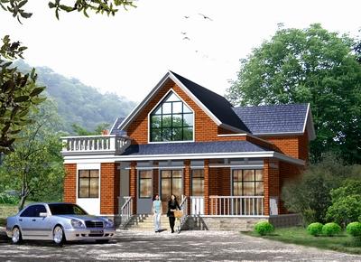 二层农村自建房屋设计图纸,二层别墅设计图,全套两层别墅设-农村图片