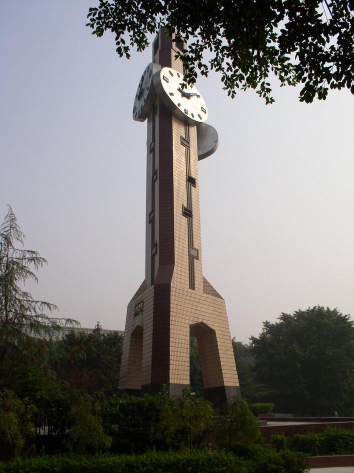 重庆大学钟楼_cad图纸下载-土木在线