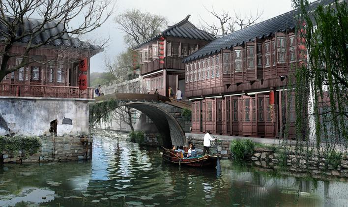 风景 古镇 建筑 旅游 摄影 708_421