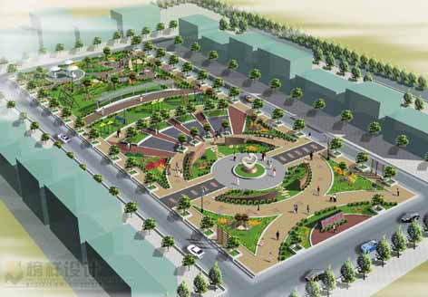 图纸 园林设计图 园林绿化及施工 广场游园绿化设计图 广场亮化  上传