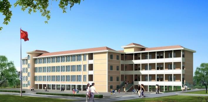小学教学楼设计图片