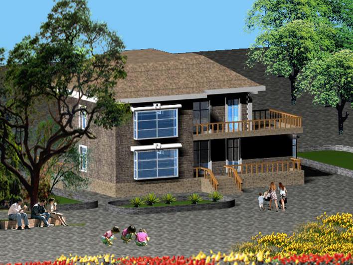 小型别墅泛海别墅拉菲花园图片