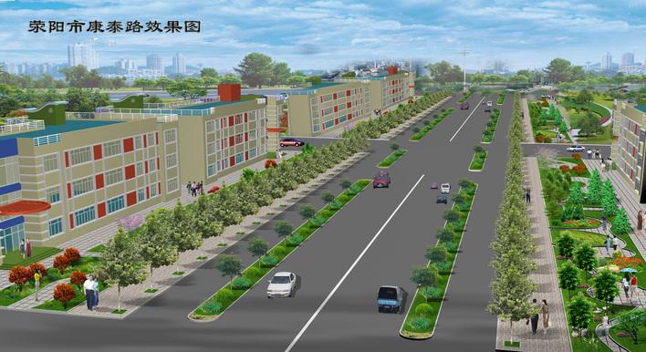 图纸 园林设计图  道路景观   工程竣工  相关专题:景观道路 道路景观