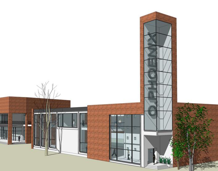 建筑商业建筑空间设计商业建筑装饰设计商业建筑入口设计商业建筑立面
