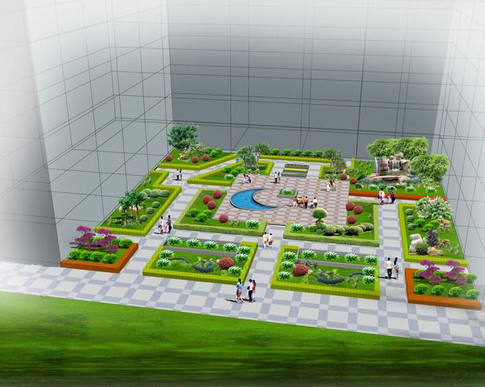 绿化效果图    公共庭院绿化   相关专题:绿化效果图 绿化设计效果图