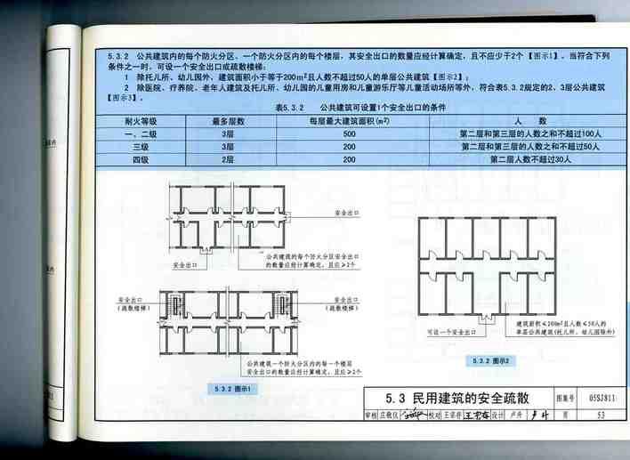 05sj811《建筑设计防火规范》图示图片