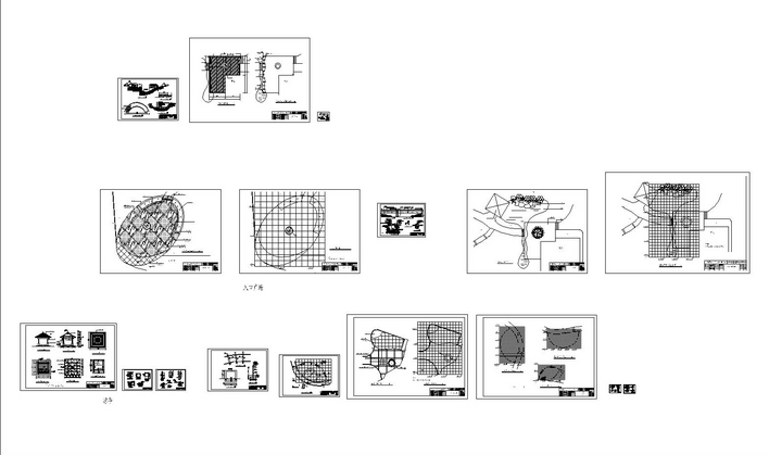 广场施工图   全套  相关专题:广场施工图 圆形广场施工图 喷泉广场