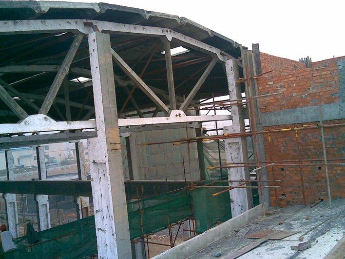 厂房排架结构屋架,吊车梁
