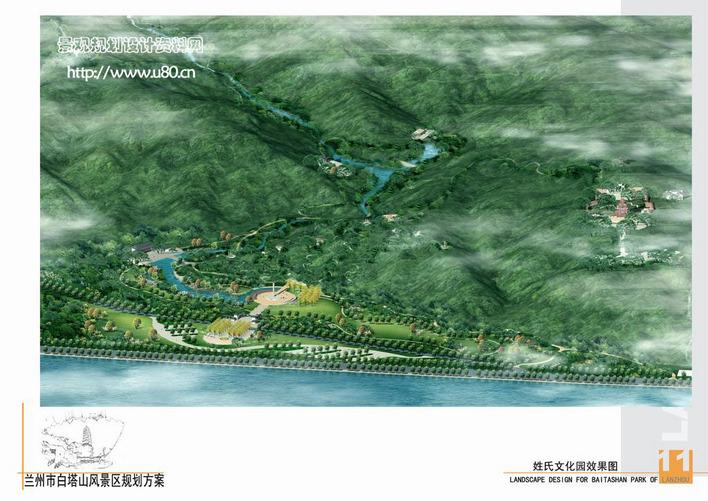 图纸 园林设计图  景观规划设计  风景区及度假村景观规划设计图(风景