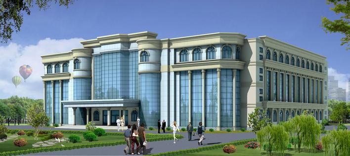 某地区多层框架结构商业楼欧式建筑结构施工图 农村欧式建筑别墅全套图片