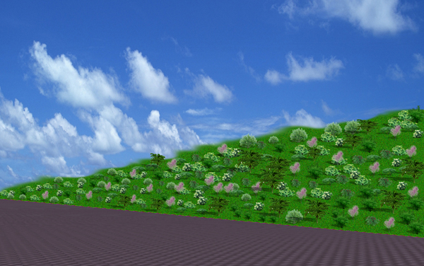 园林景观绿化-图纸_cad护坡下载cad不规则曲面生成怎么里面图片