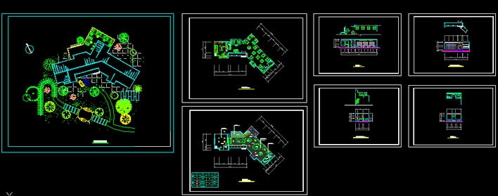餐厅图纸 餐厅图块 餐厅设计 小餐厅设计  所属分类:餐厅设计 商业